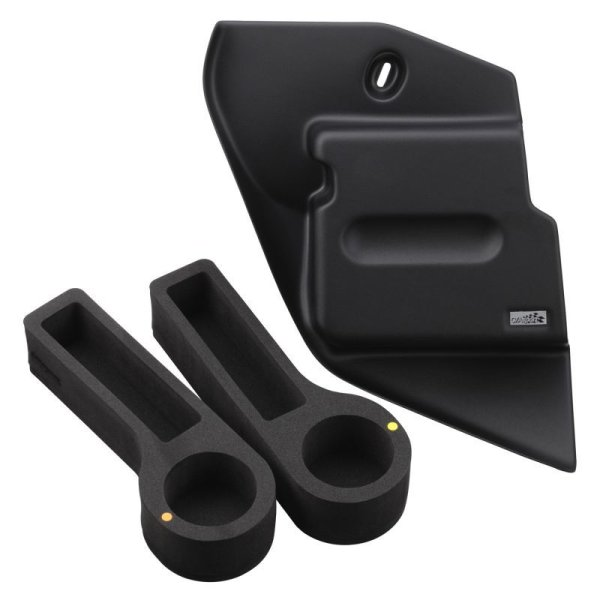 画像1: VW POLO / AW ブックレットホルダー &ドリンクホルダー(ブラック) セット (1)